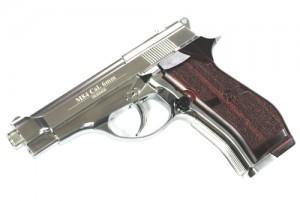 baretta m84 silver